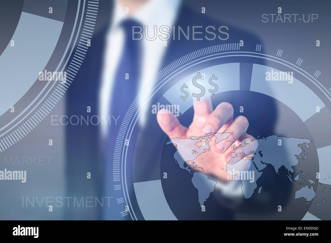 global business concept, start-up - Stock Image
