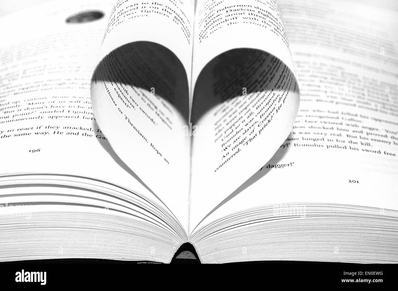 Love story - Stock Image