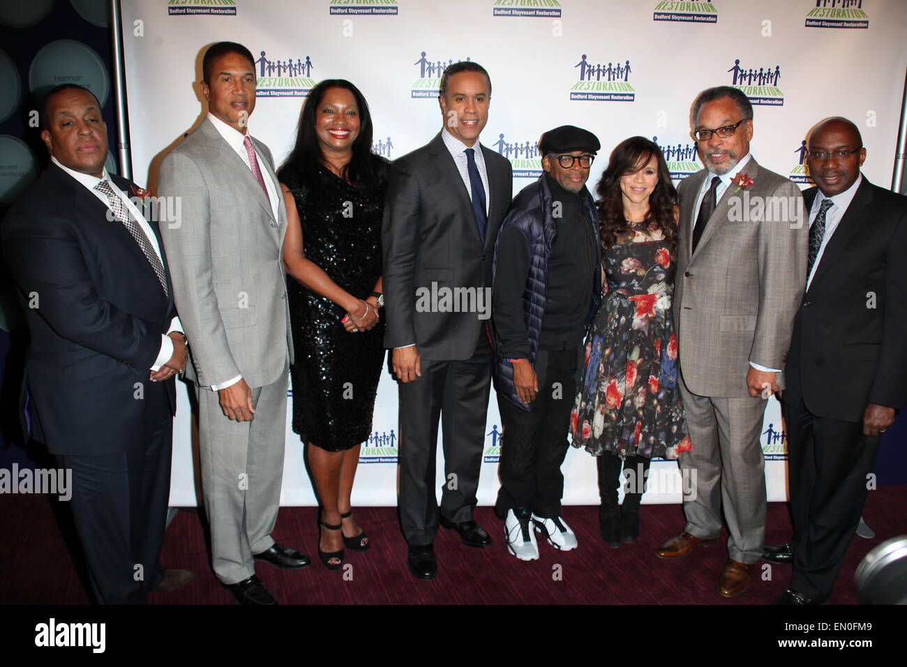2014 Restore Brooklyn Benefit at Frederick P. Rose Hall, Jazz at Lincoln Center - Arrivals  Featuring: Guests,Christopher - Stock Image