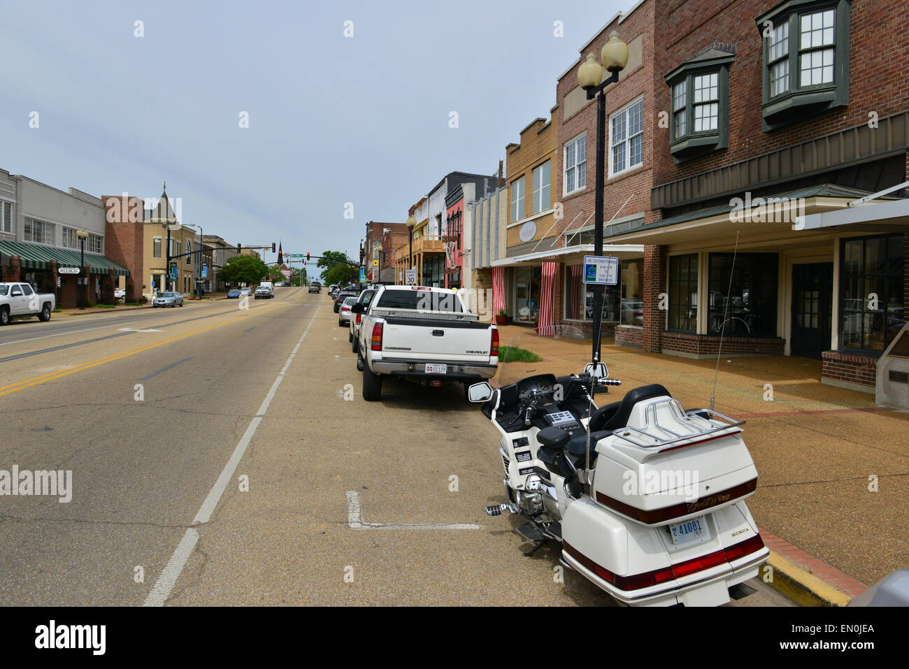 Tupelo MIssissippi in the USA - Stock Image