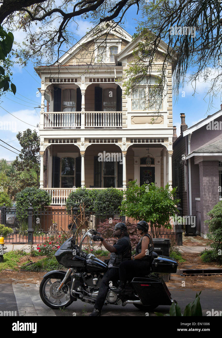 New OrleansLouisiana French colonial House on Esplanade Avenue