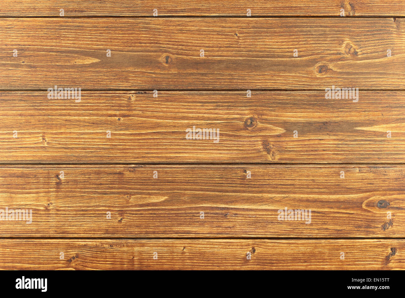 Brown wooden toned boards assembled as background Stock Photo