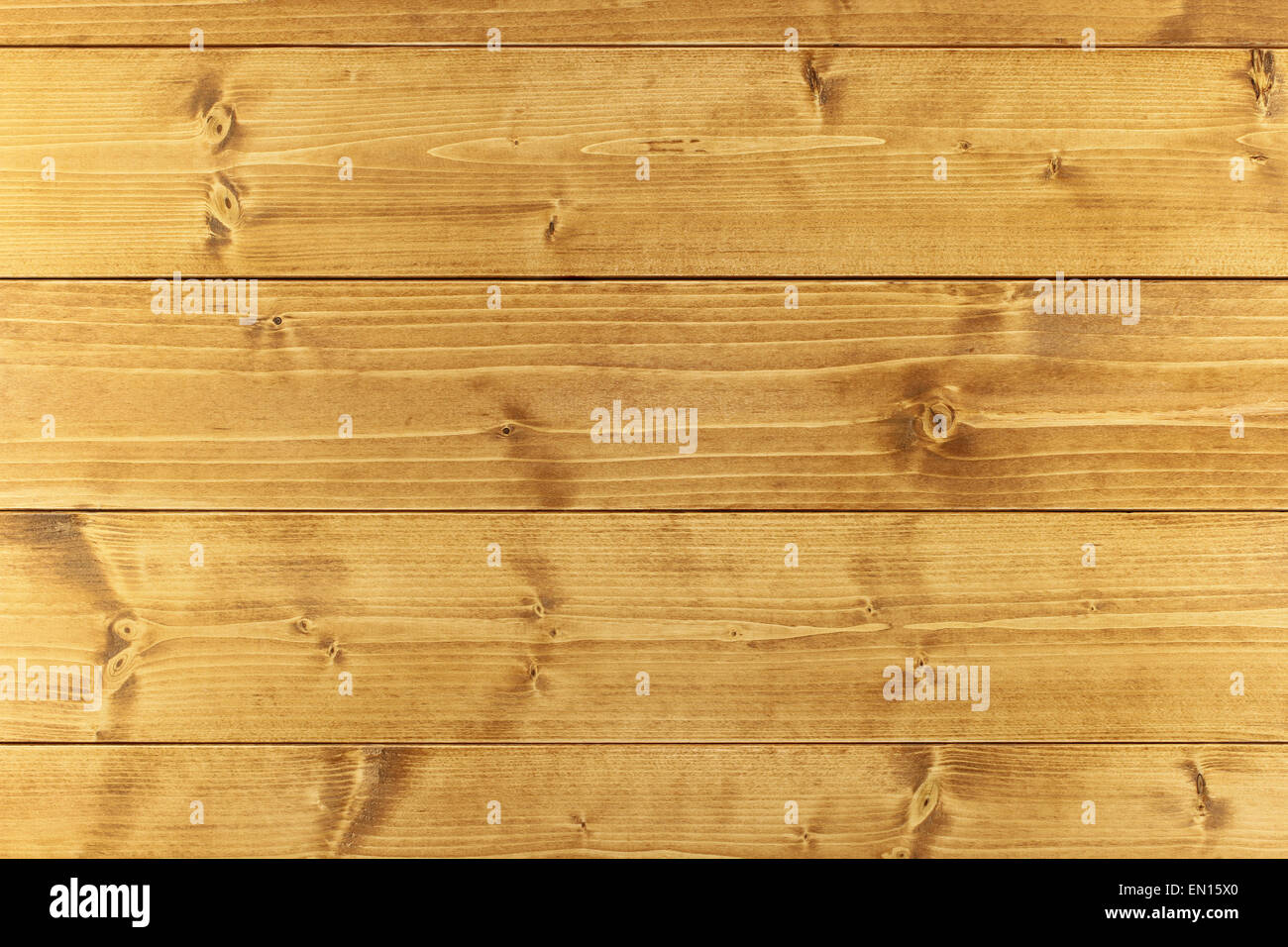 Light brown wooden toned boards assembled as background Stock Photo