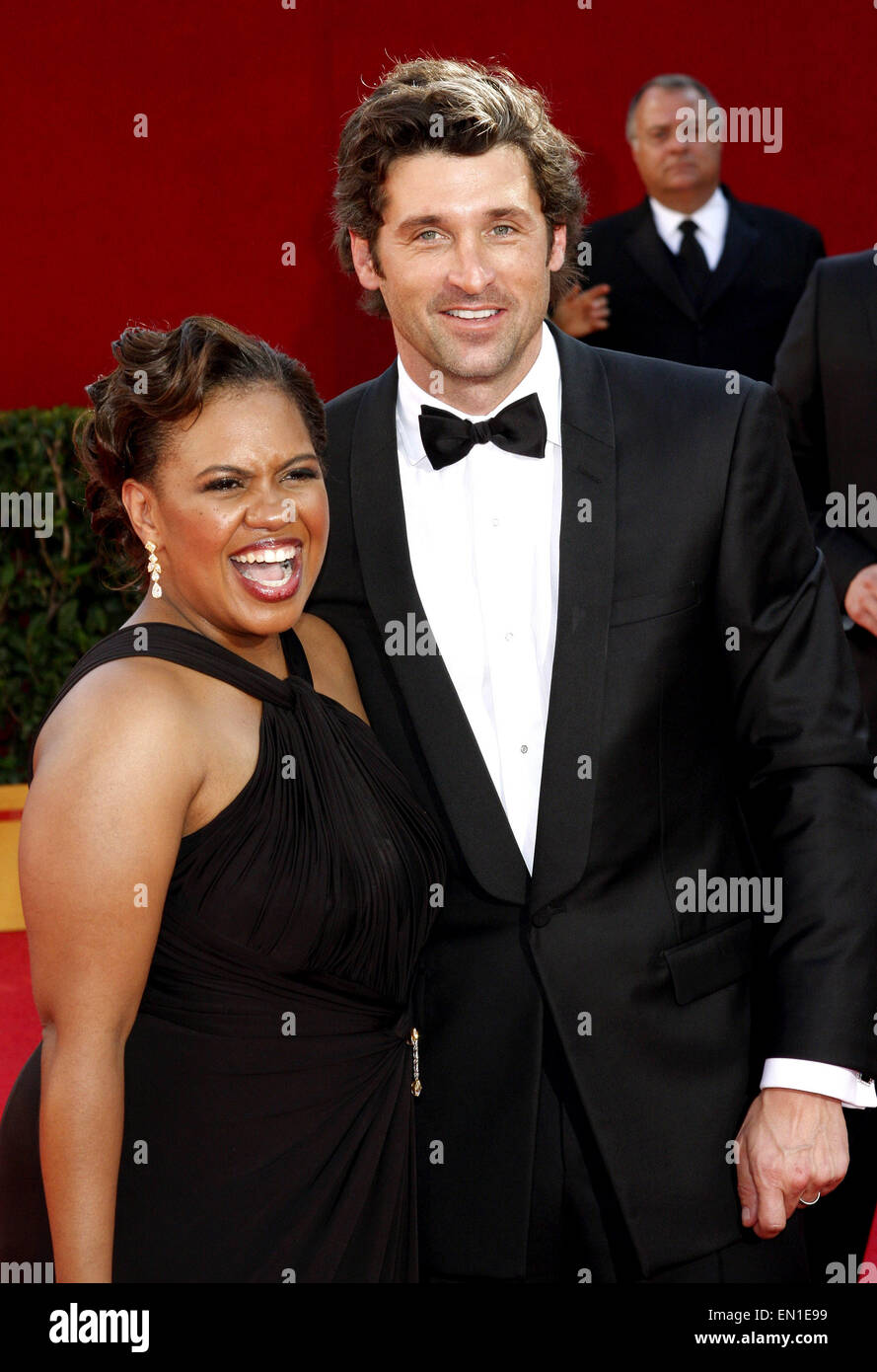 Chandra Wilson and Patrick Dempsey - Stock Image