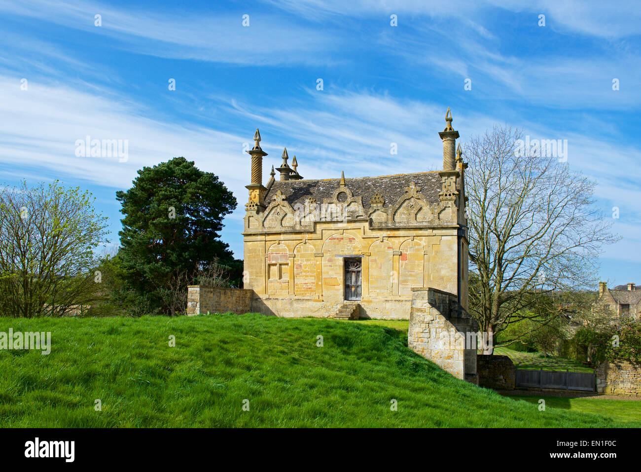 The West Banqueting House, Chipping Campden, Gloucestershire, Cotswolds, England UK - Stock Image