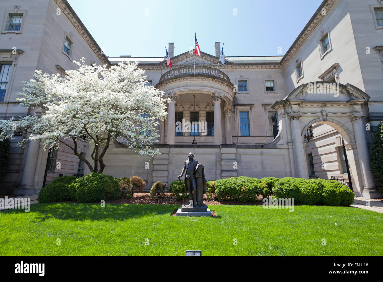 The Anderson House of The Society of the Cincinnati - Washington, DC USA - Stock Image