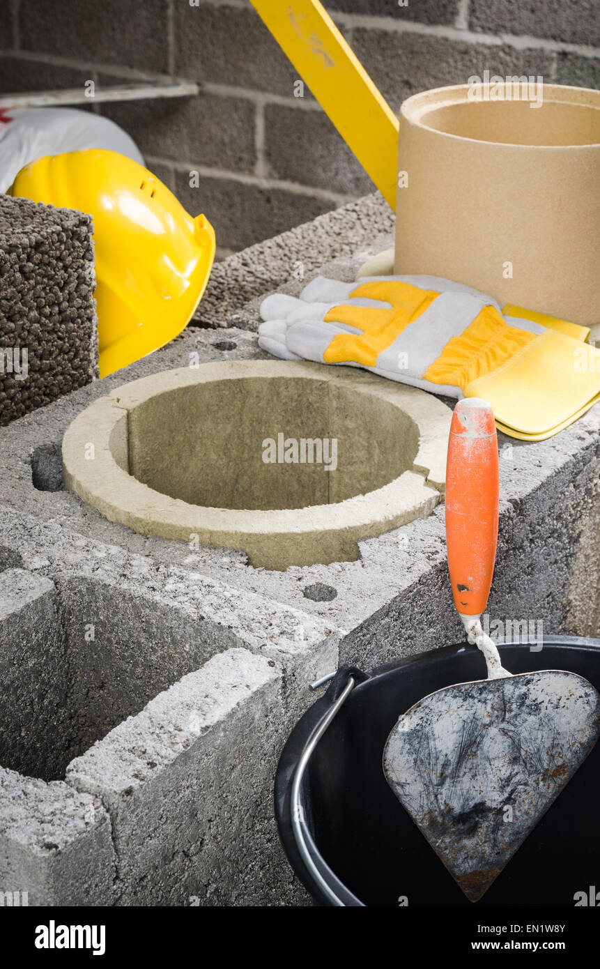 How a ceramic chimney is constructed: the specifics of the installation of a ceramic flue duct 30