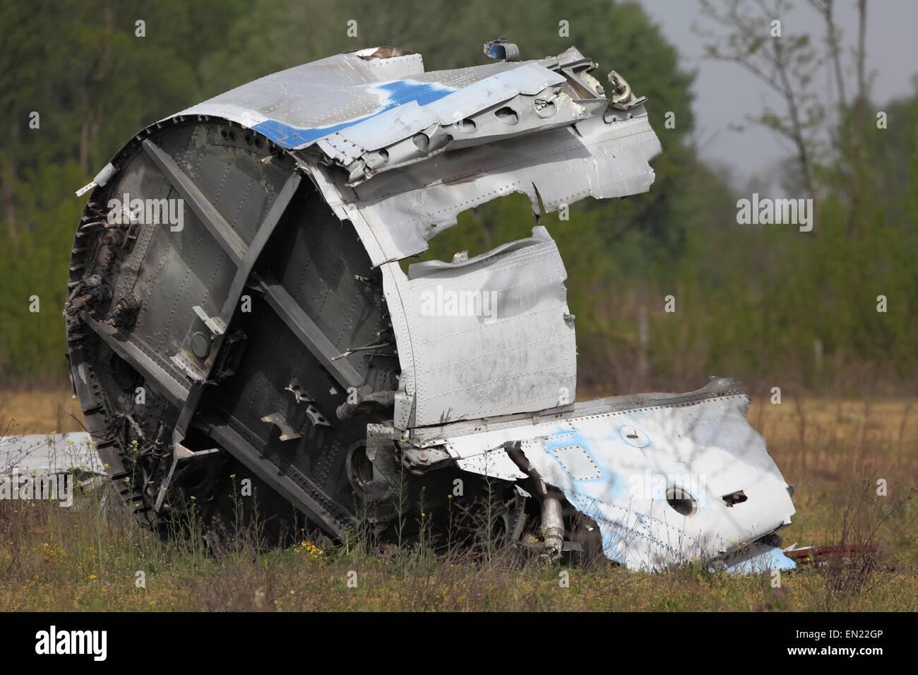 Aircraft Wreck - Stock Image