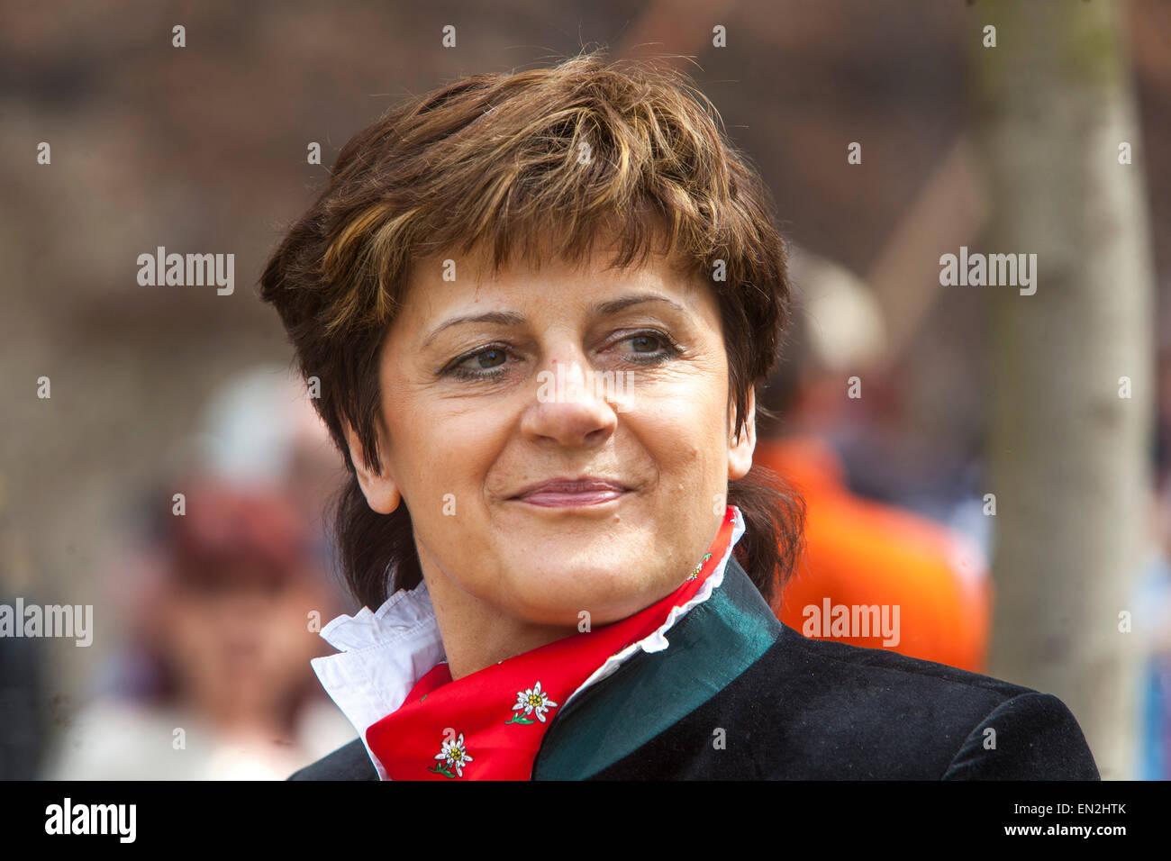 Nina Novakova, Member of Parliament, TOP09 - Stock Image