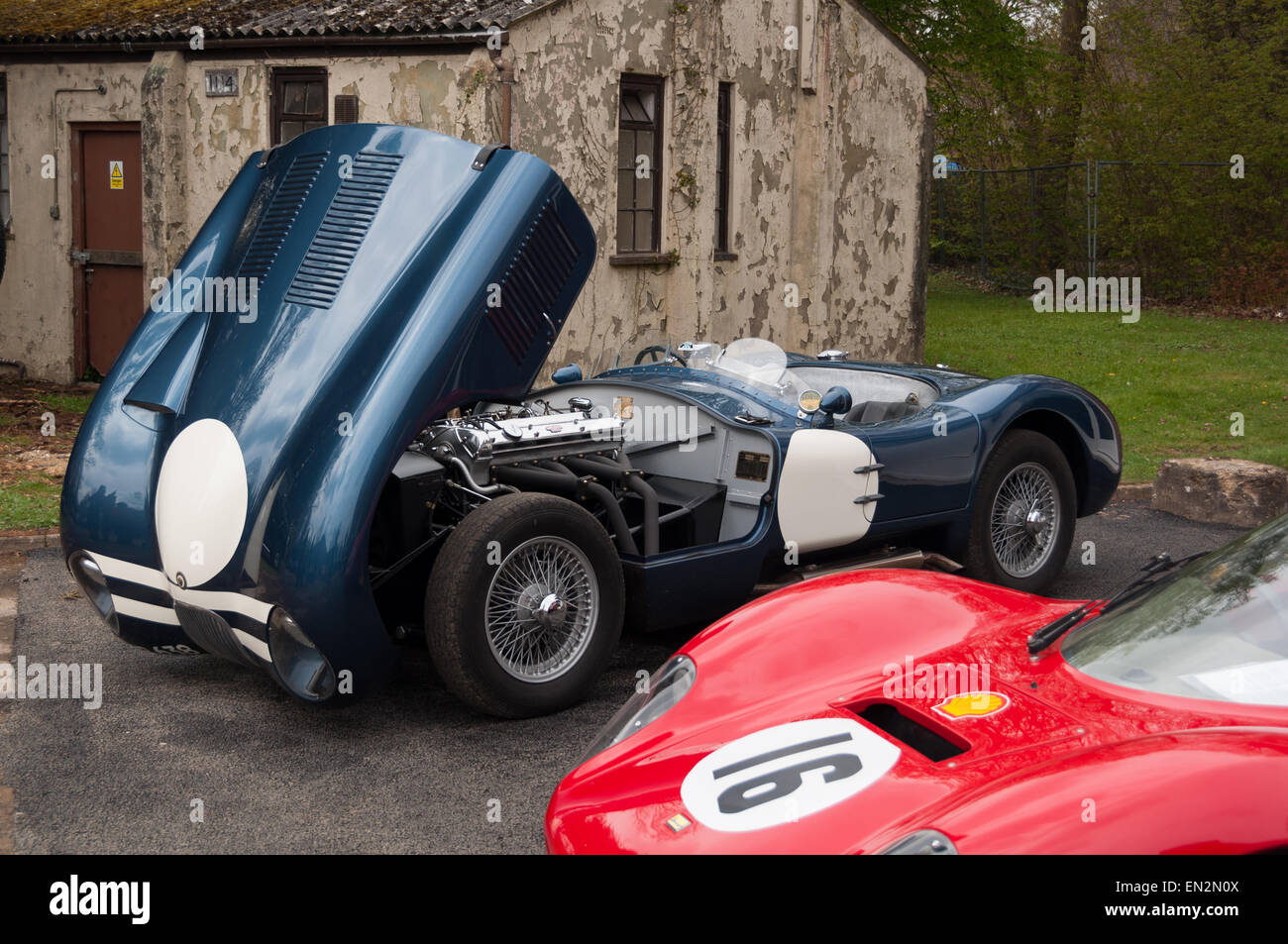 Sunday Car Stock Photos Images Alamy Circuit Map For Bromyard Speed Festival Vintage Jaguar Sport At The 5th Brunch Scramble In Bicester Heritage Oxfordshire
