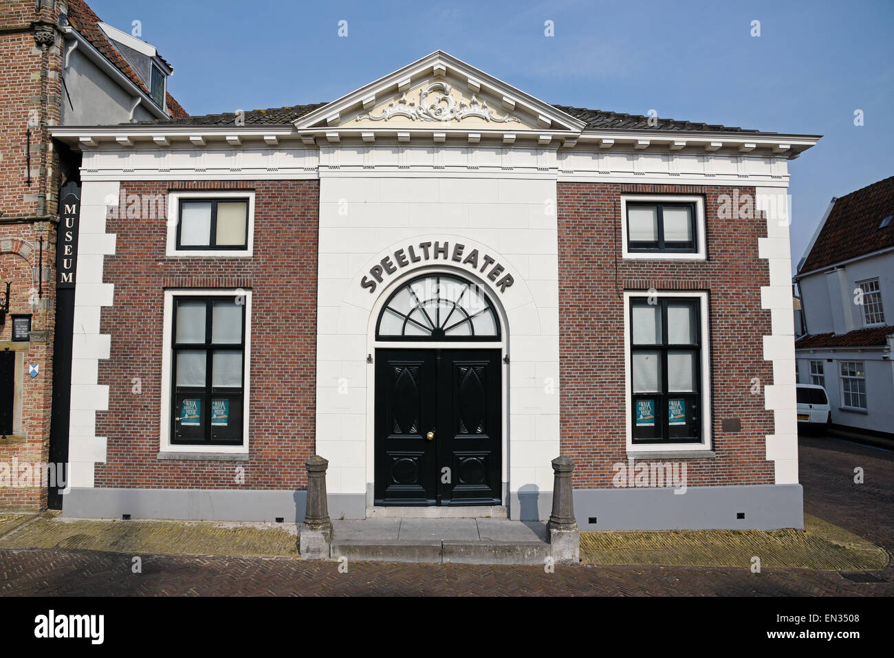 Speeltheater theatre, Edam, province of North Holland, The Netherlands - Stock Image