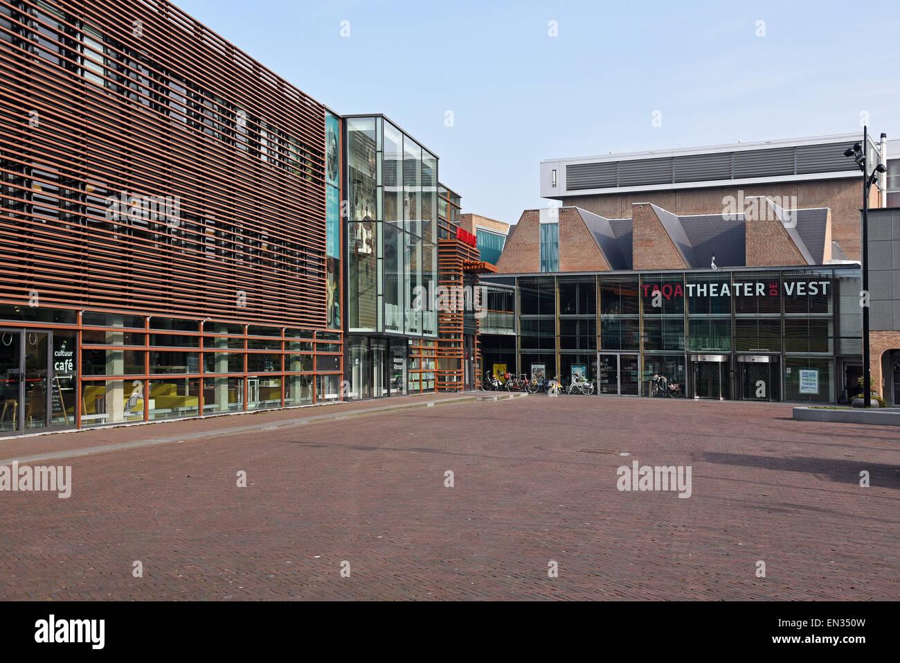 Stedelijk Museum, City Museum, Taqa Theater de Vest, Alkmaar, North Holland, The Netherlands - Stock Image