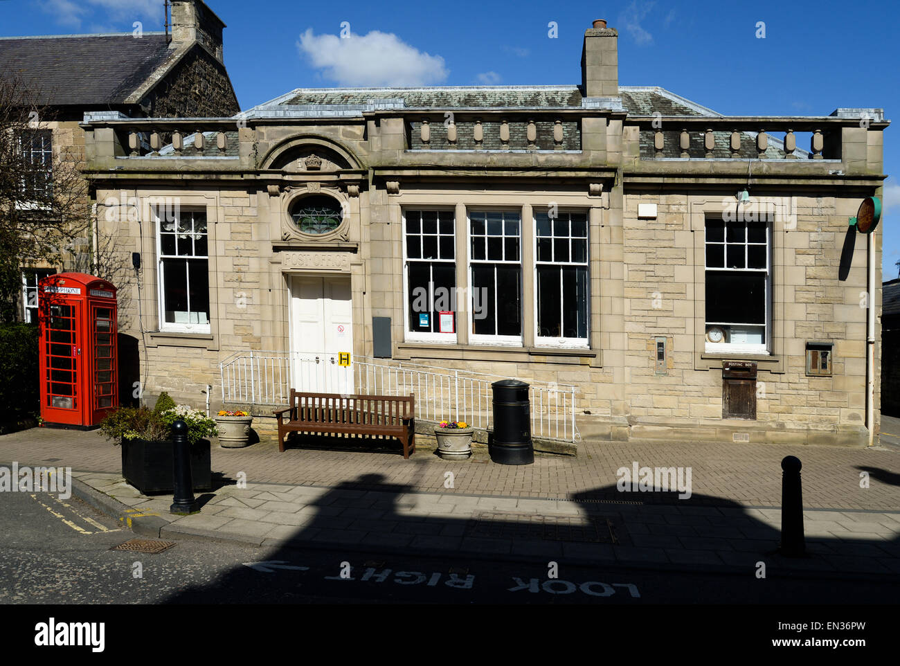 Melrose Post Office, opened in 1901 - Stock Image