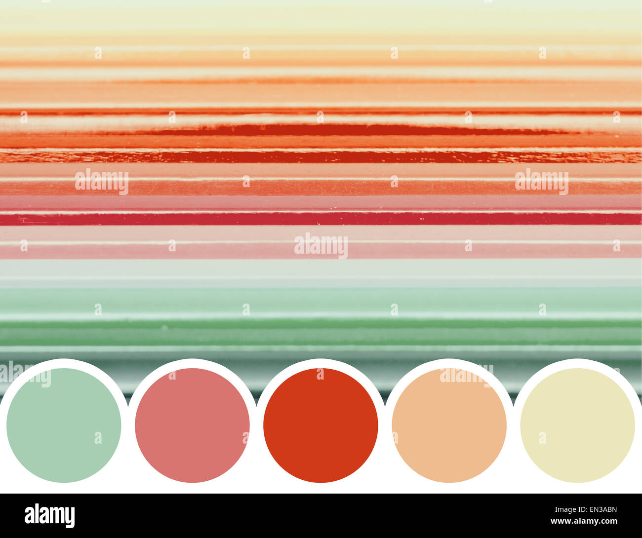 Color Palette Of Coloring Crayons Abstract Stock Photo: 81823273 - Alamy