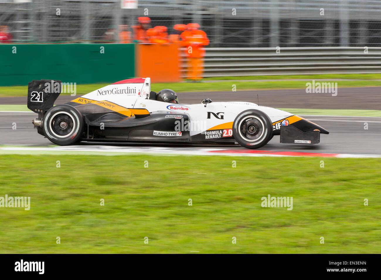 Circuit Monza Italia : Ferrari italia gt at monza editorial image image of classic