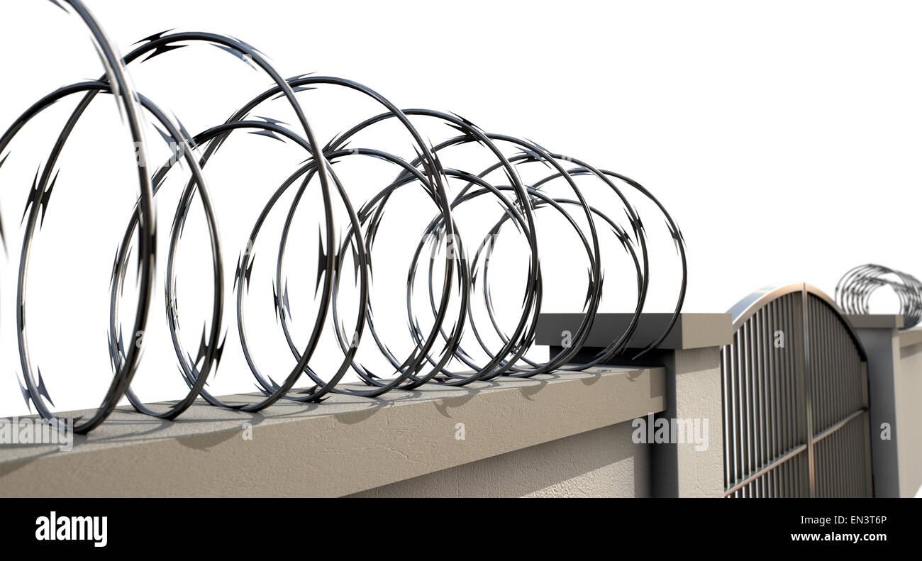 Nett Razor Wire Pricing Fotos - Elektrische Schaltplan-Ideen ...