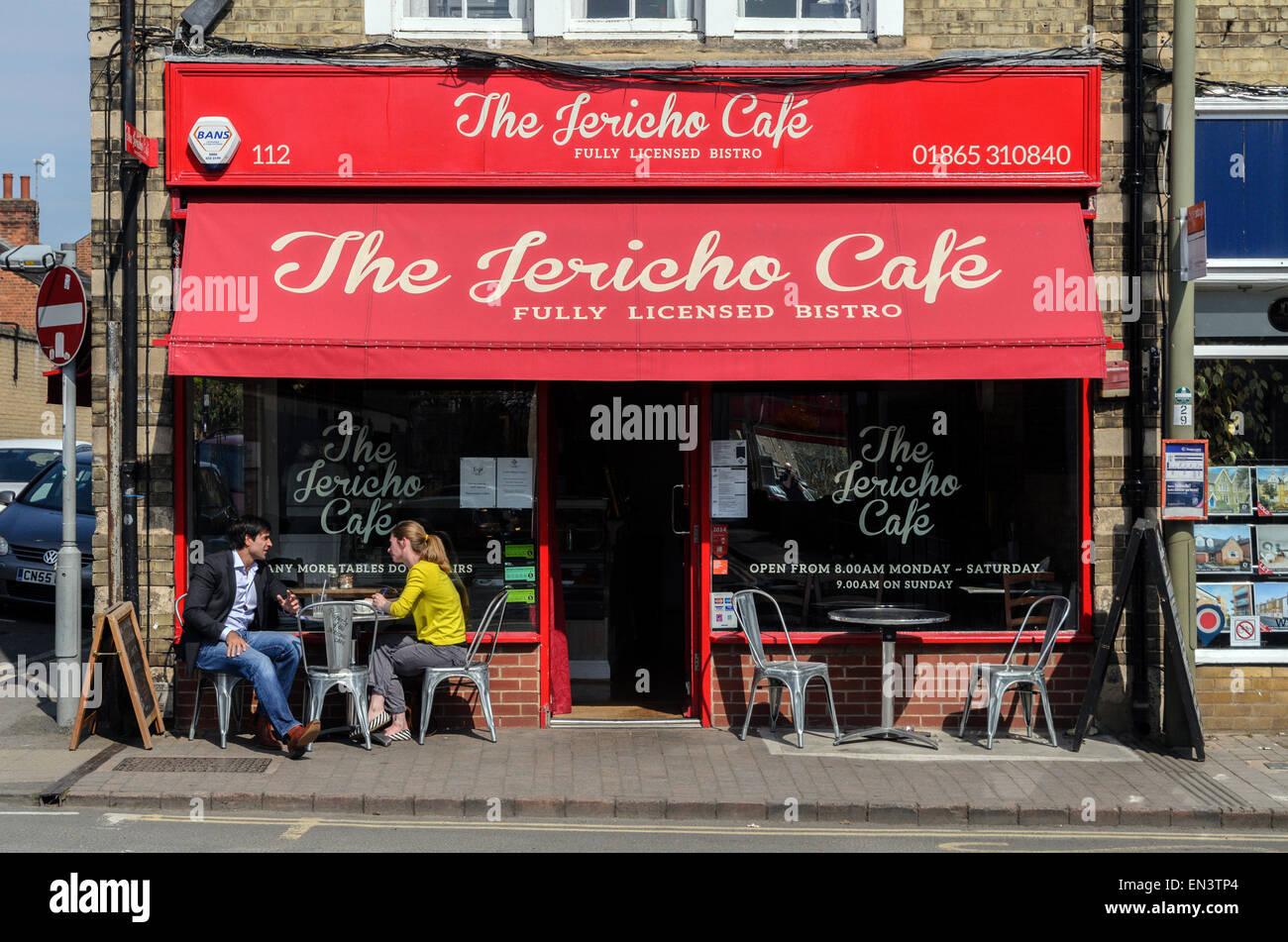 The Jericho Cafe, Walton Street, Oxford. - Stock Image