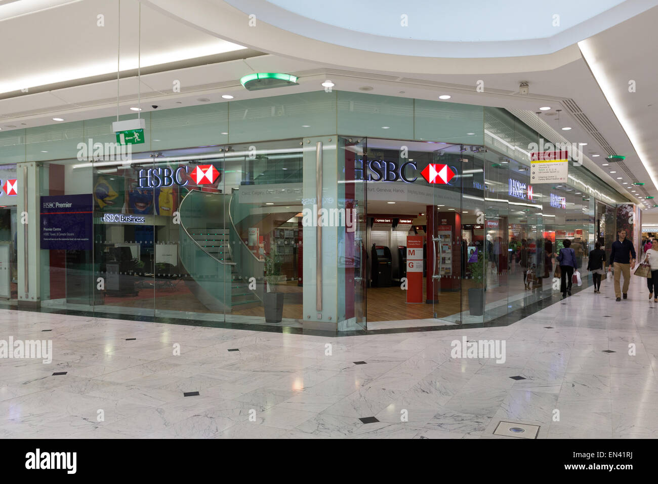 Hsbc Branch Hong Kong Stock Photos & Hsbc Branch Hong Kong Stock
