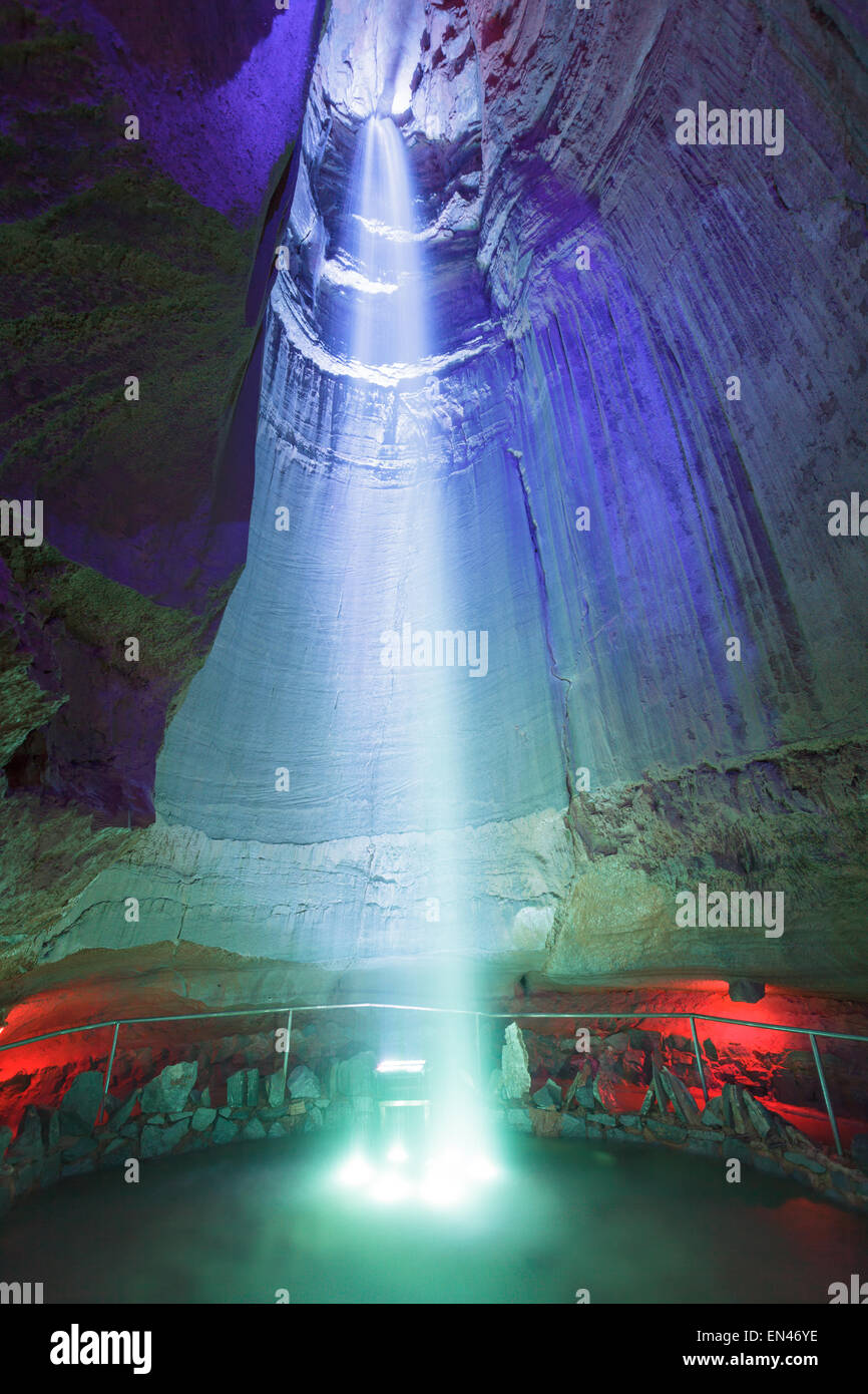Ruby Falls Lookout Mountain Chattanooga Tennessee Usa Stock Photo 81842530 Alamy