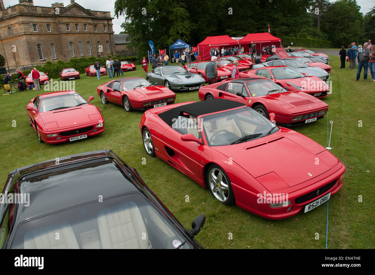 Ferrari  Spider And Collection At The Ferrari Owners Club Rally At B Heim Palace Woodstock