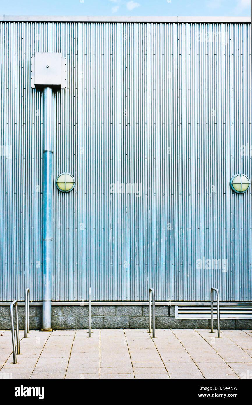 Corrugated Concrete Building Stock Photos Amp Corrugated