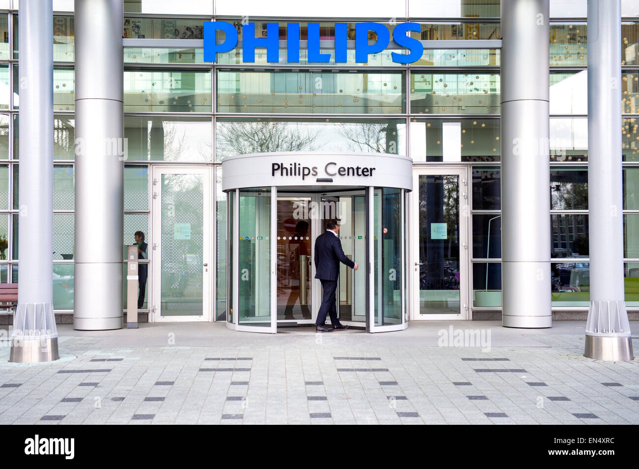 Philips Headquarters Amsterdam Netherlands Stock Photos