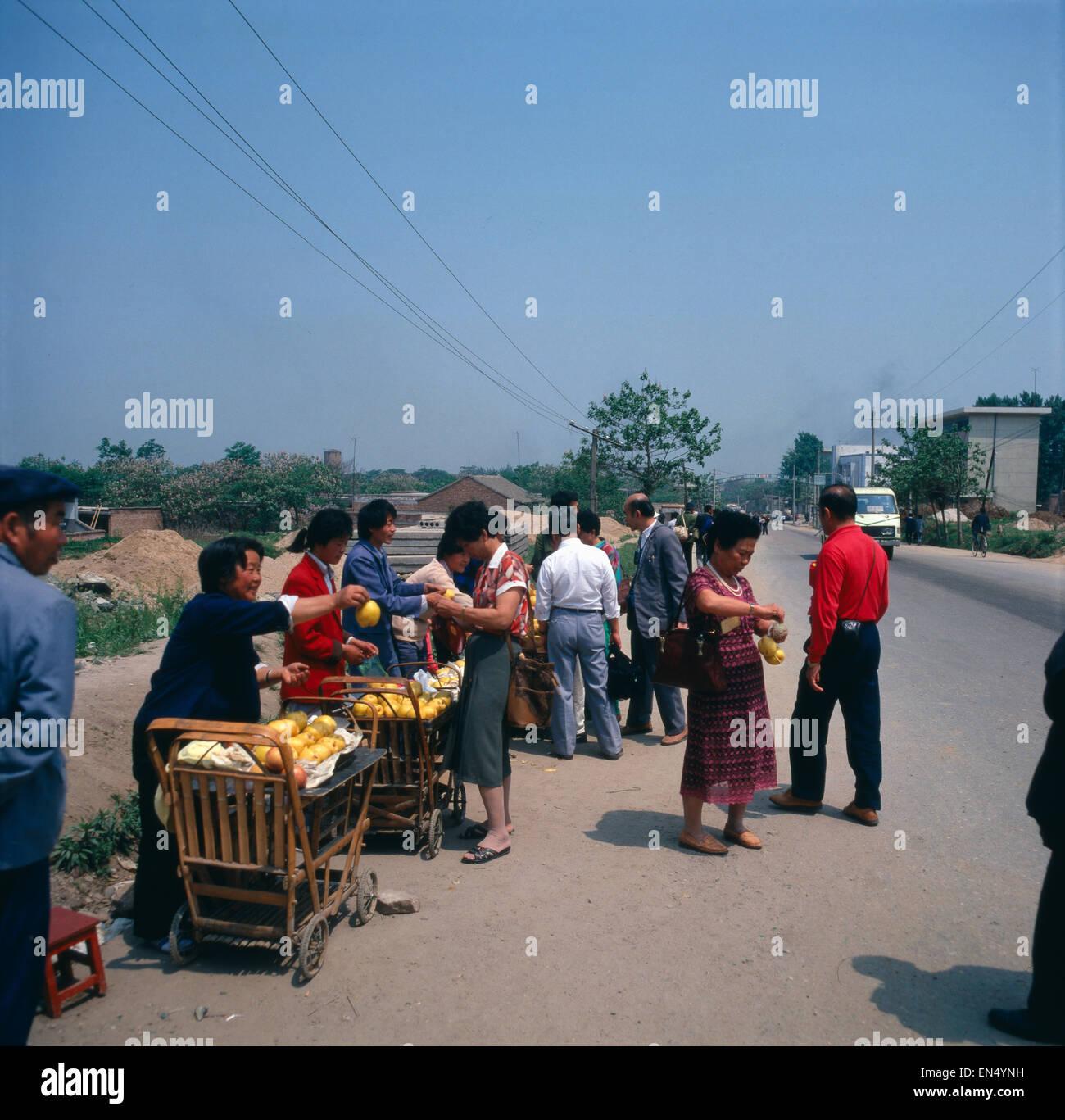 Eine Reise nach China, 1980er Jahre. A trip to China, 1980s. - Stock Image