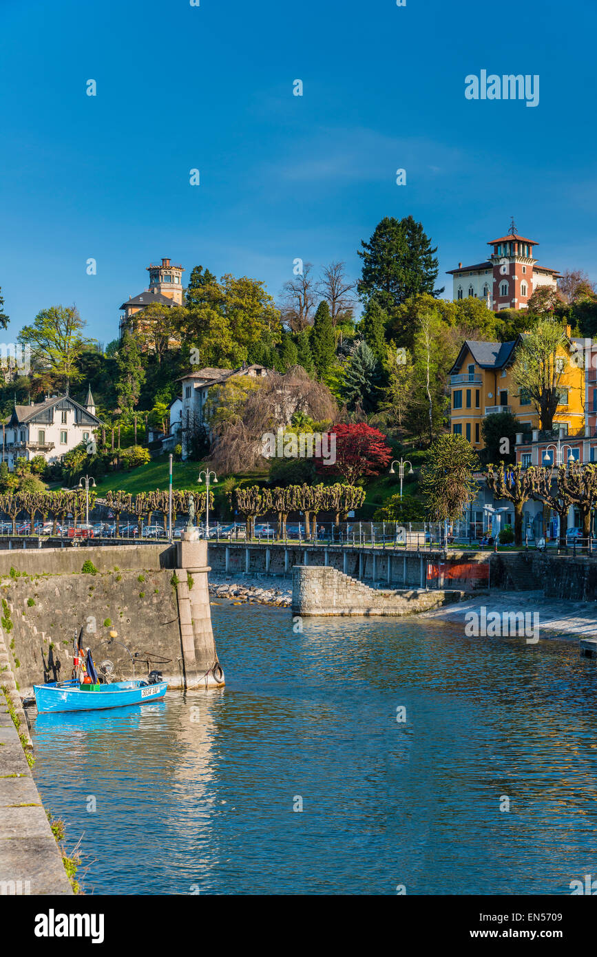 Stresa, Lake Maggiore, Piedmont, Italy - Stock Image
