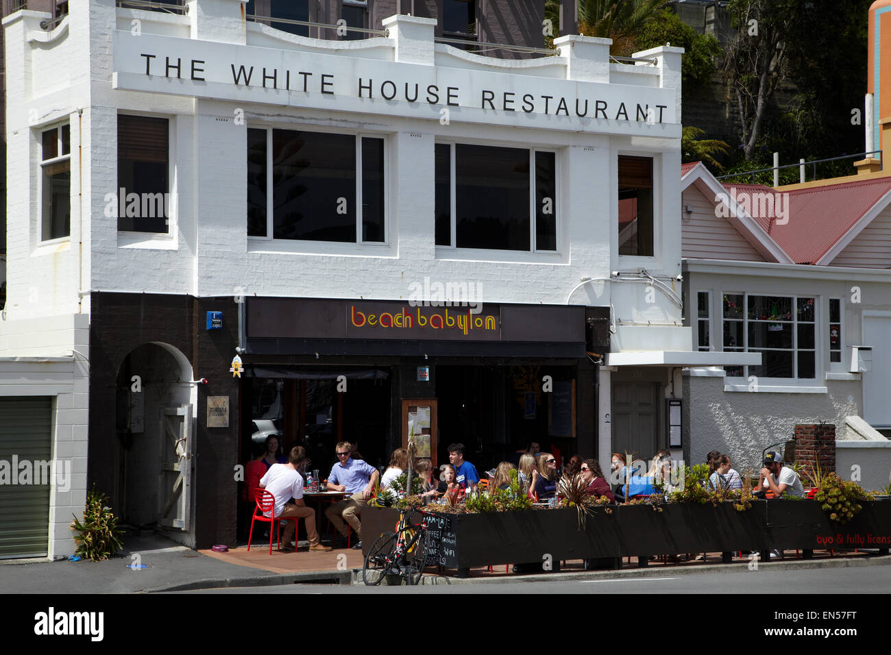 White House Restaurant Oriental Bay Wellington