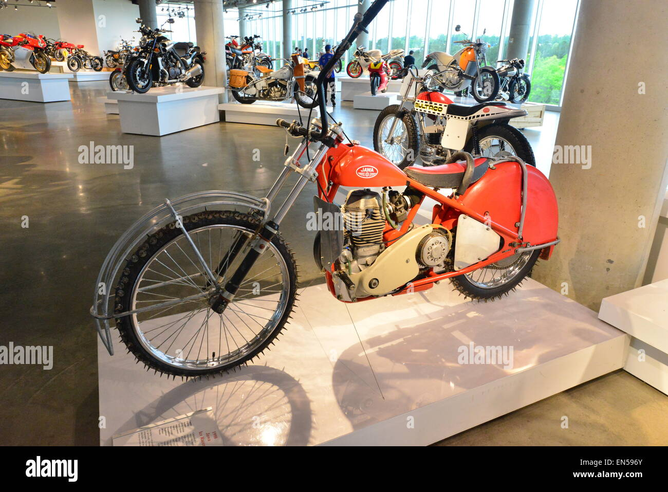 Japanese Classic Bike Stock Photos & Japanese Classic Bike