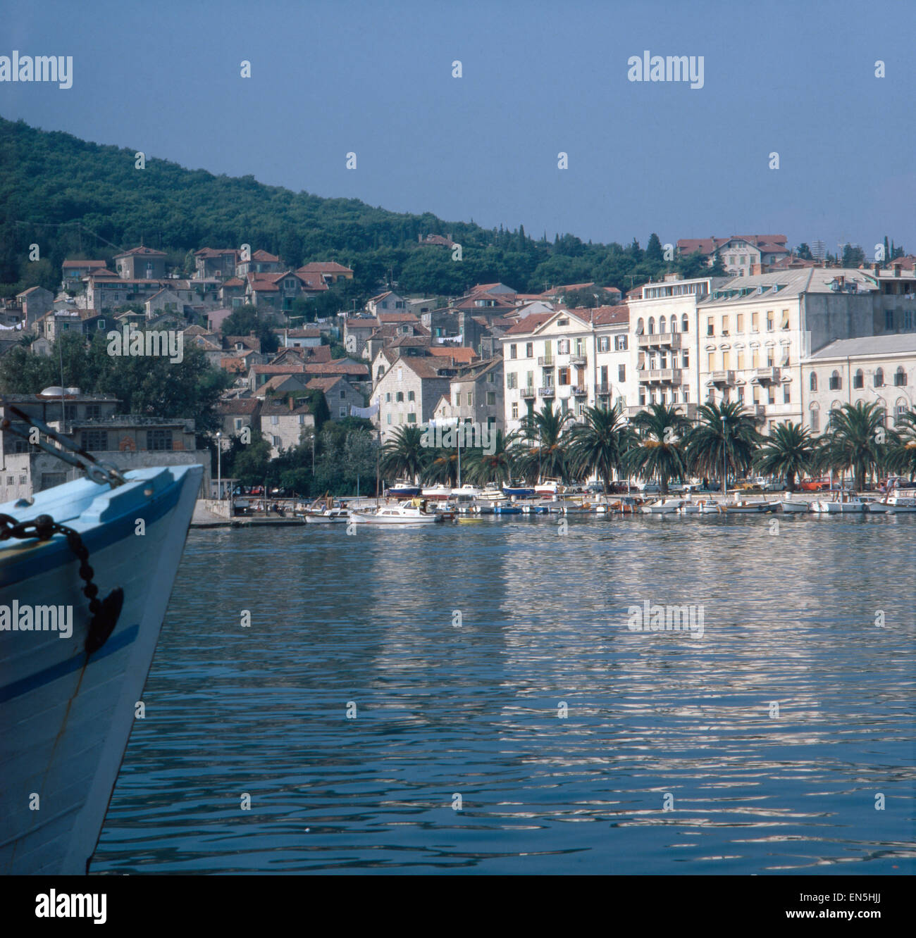 urlaub in split kroatien jugoslawien 1970er jahre vacation in stock photo 81872858 alamy. Black Bedroom Furniture Sets. Home Design Ideas