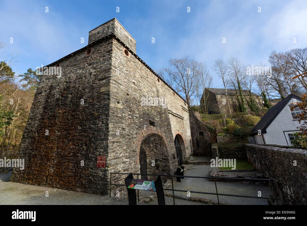 Dyfi Furnace, Ceredigion, Wales , United Kingdom - Stock Image