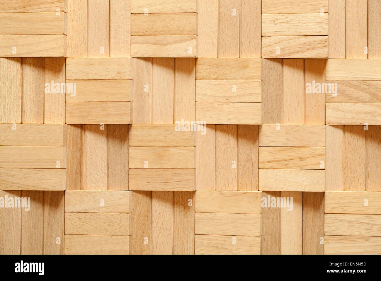 pattern arranged from blocks as background - Stock Image