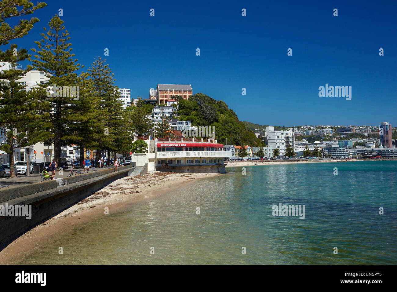 Bluewater stock photos bluewater stock images alamy - Blue water bar and grill ...