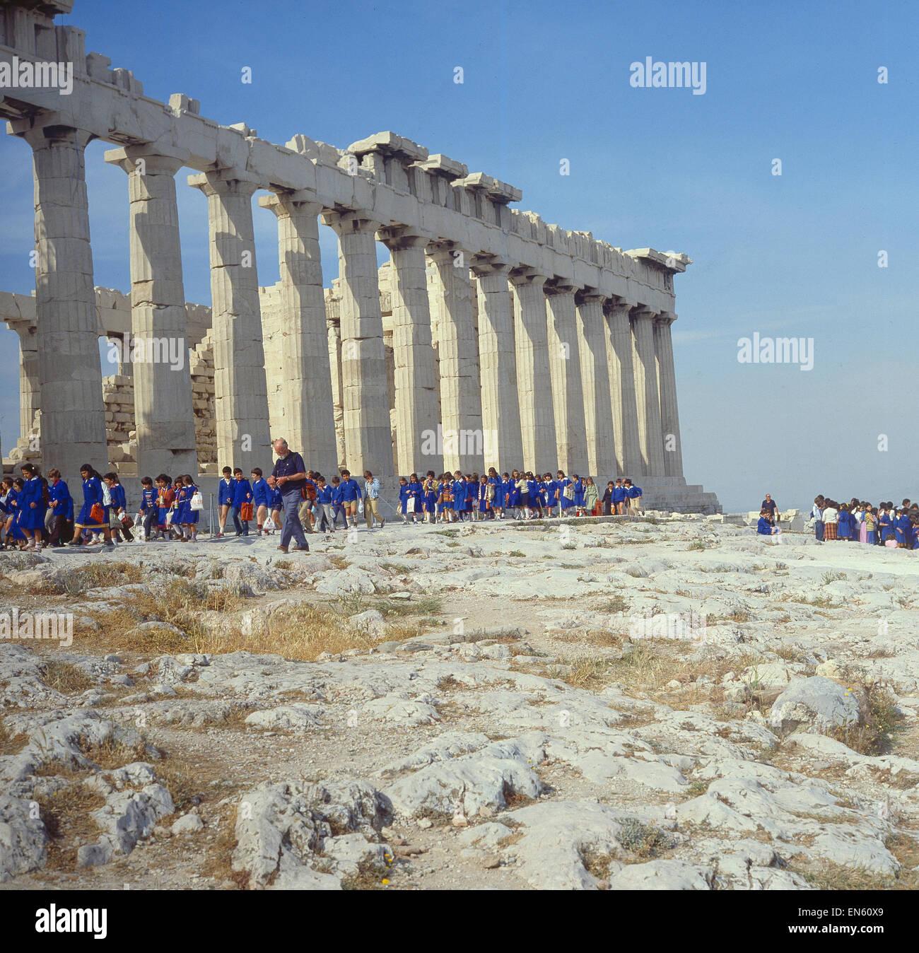 Griechenland, Athen, Akropolis, Parthenon Stock Photo