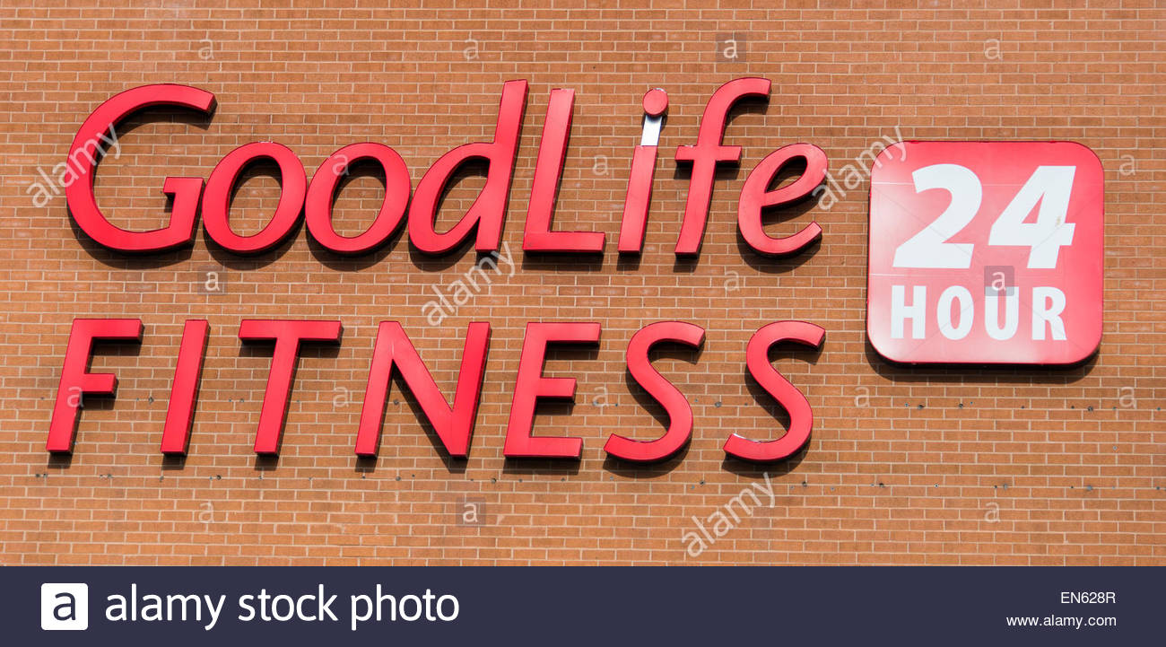 Goodlife Fitness 24 Hour Sign Goodlife Fitness Centers Inc Is