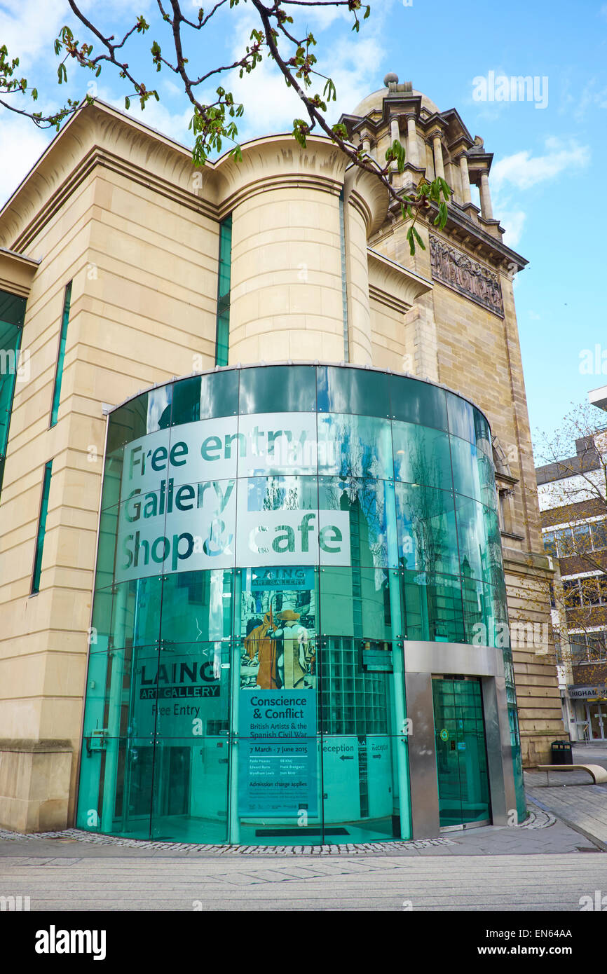 Laing Art Gallery New Bridge Street Newcastle Upon Tyne UK Stock Photo