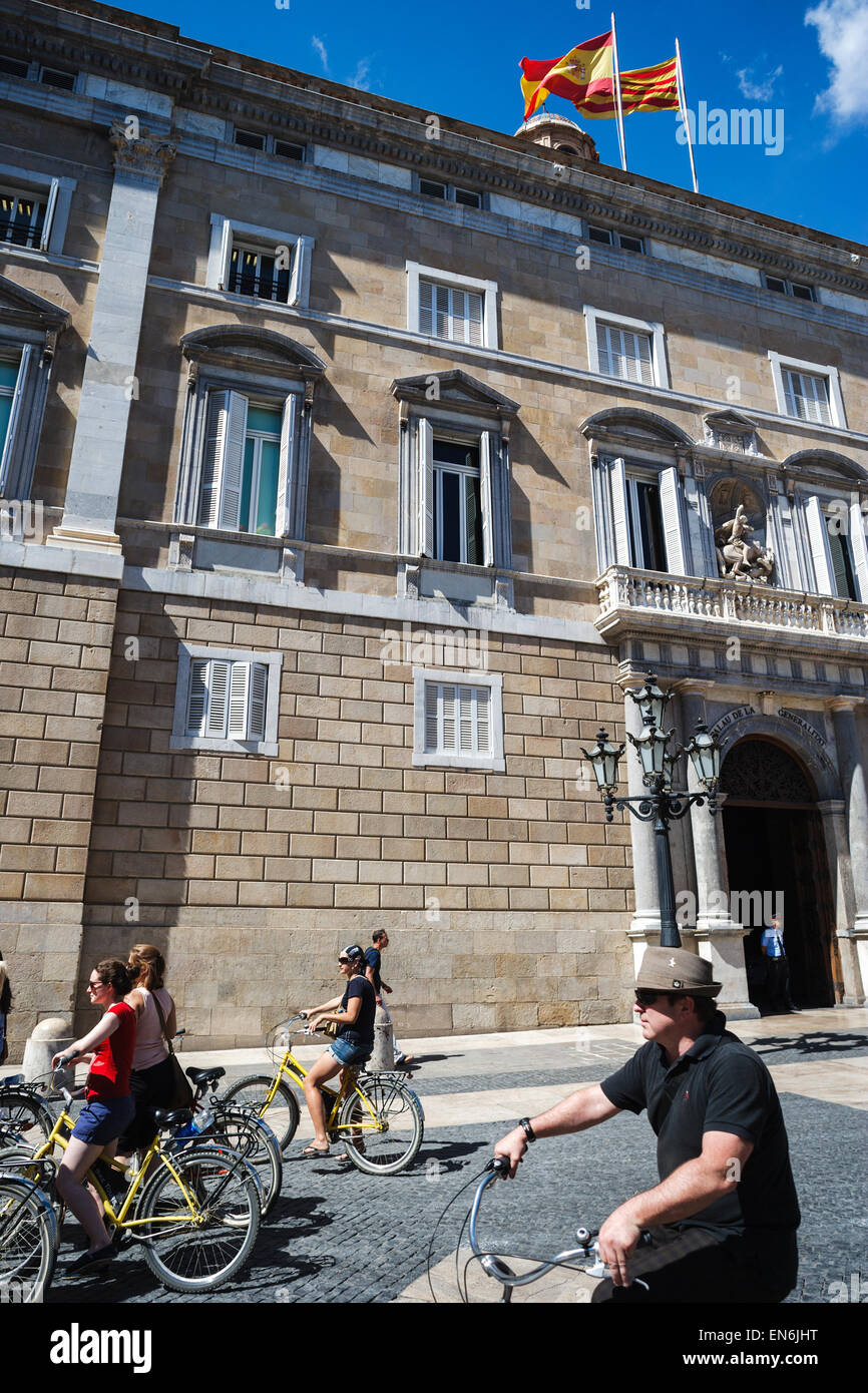 Palau De La Generalitat De Catalunya Xv Xvii Century In Barcelona