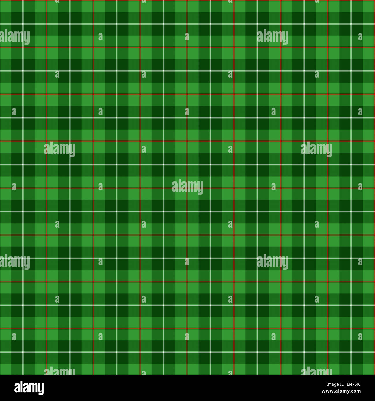 A seamless patterned tile of the clan Blane tartan. - Stock Image