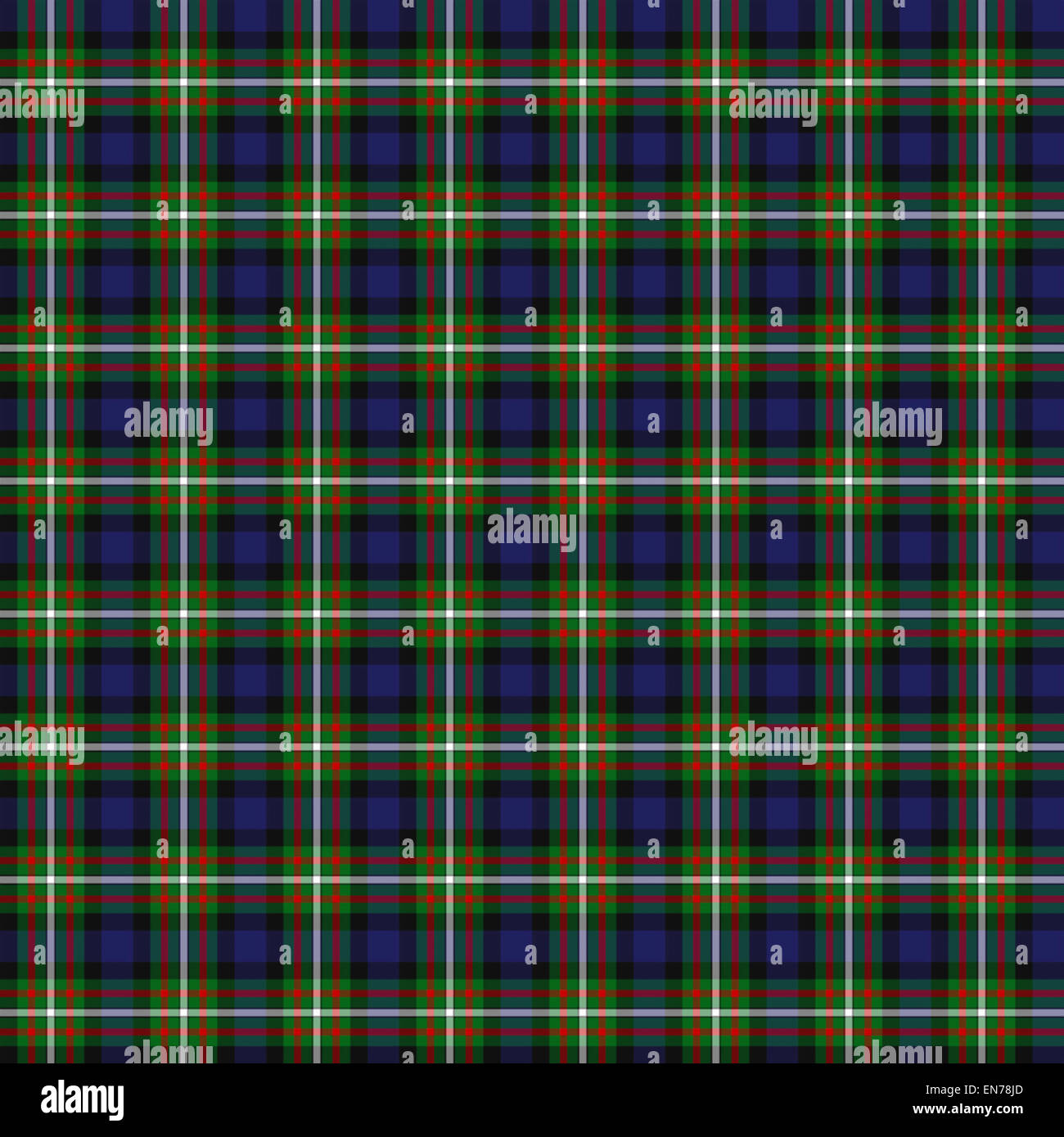 A seamless patterned tile of the clan Ferguson tartan Stock Photo ...