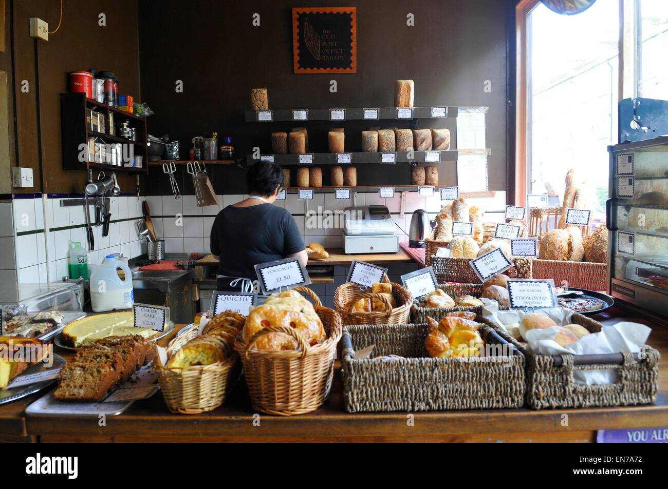 The Old Post Office Bakery, Stockwell/Clapham North, London, England, UK - Stock Image
