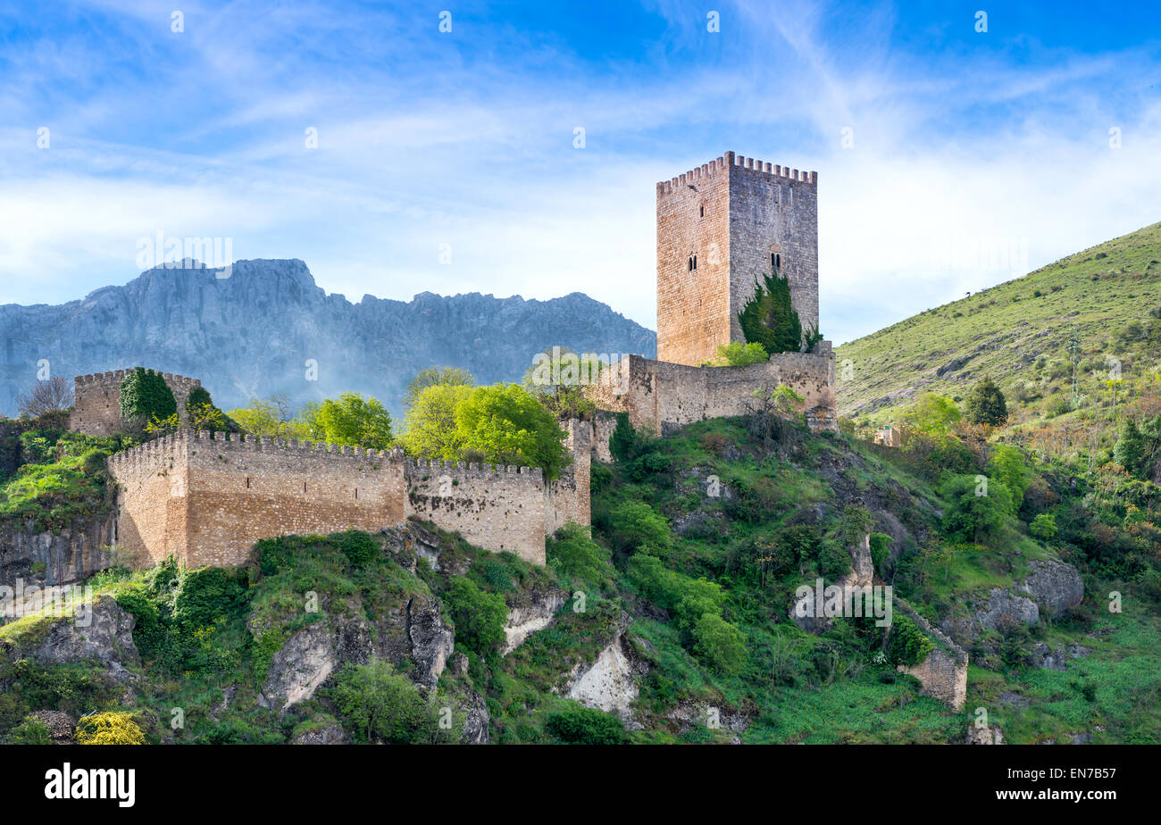 Cazorla Town and Castle Jaen Province Andalusia Spain Stock Photo