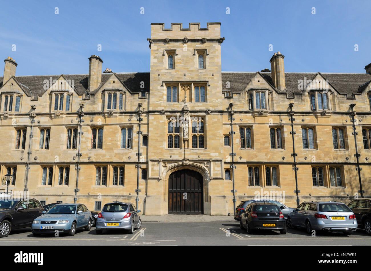 St Johns College, University of Oxford, Oxford, U.K. - Stock Image