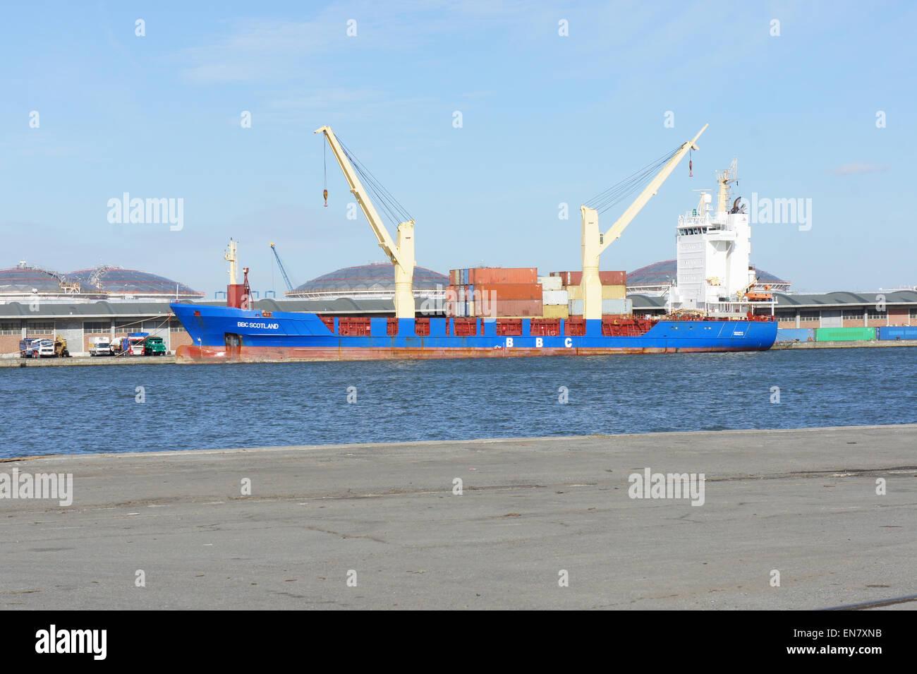 BBC Scotland - IMO 9266322 - Cargo Ship - Callsign ZDFF3