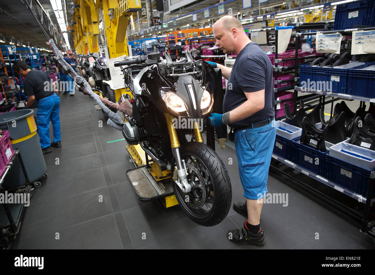 Bmw Motorcycle Factory Stock Photos & Bmw Motorcycle Factory