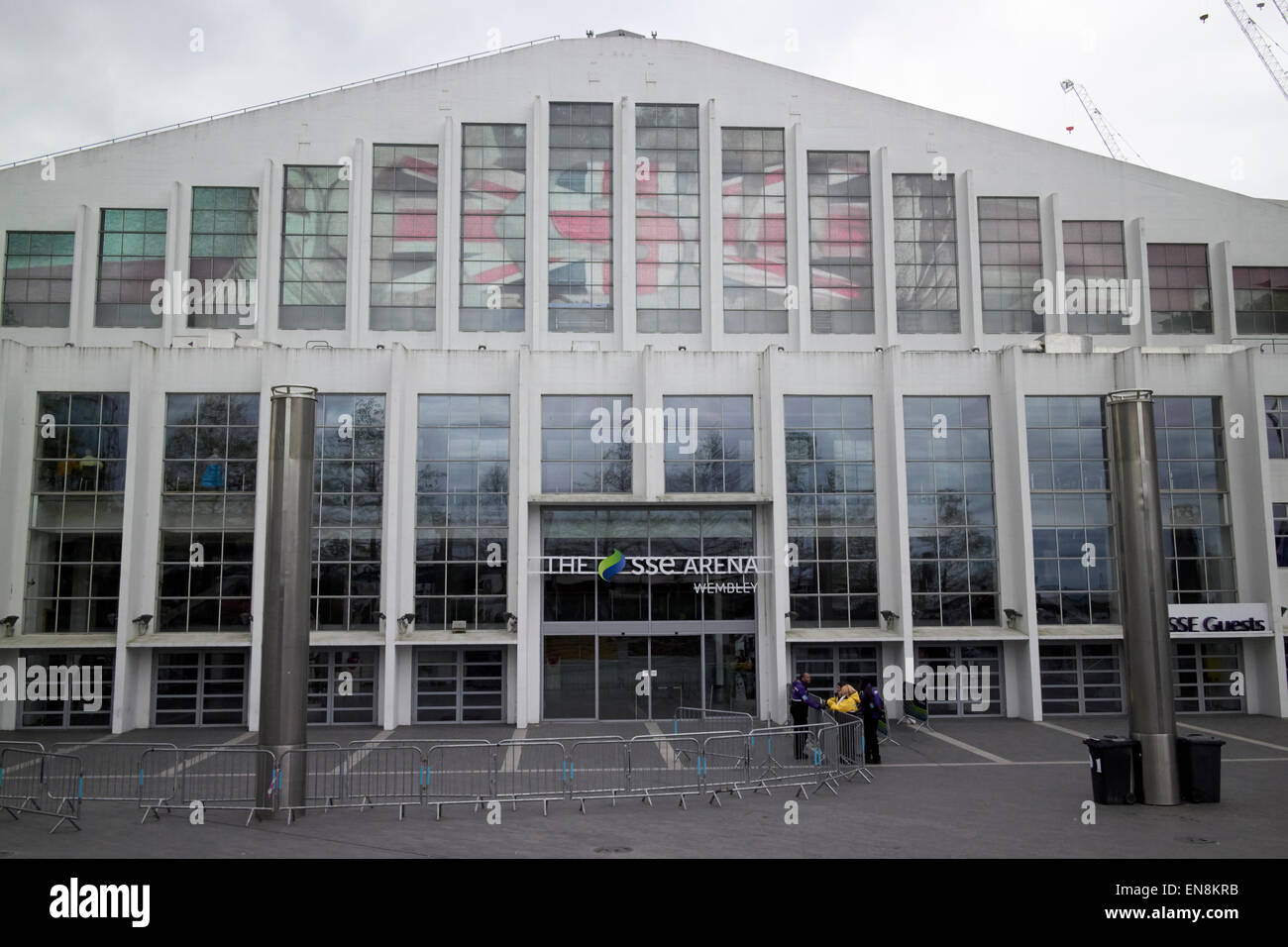 the sse Wembley arena London UK - Stock Image