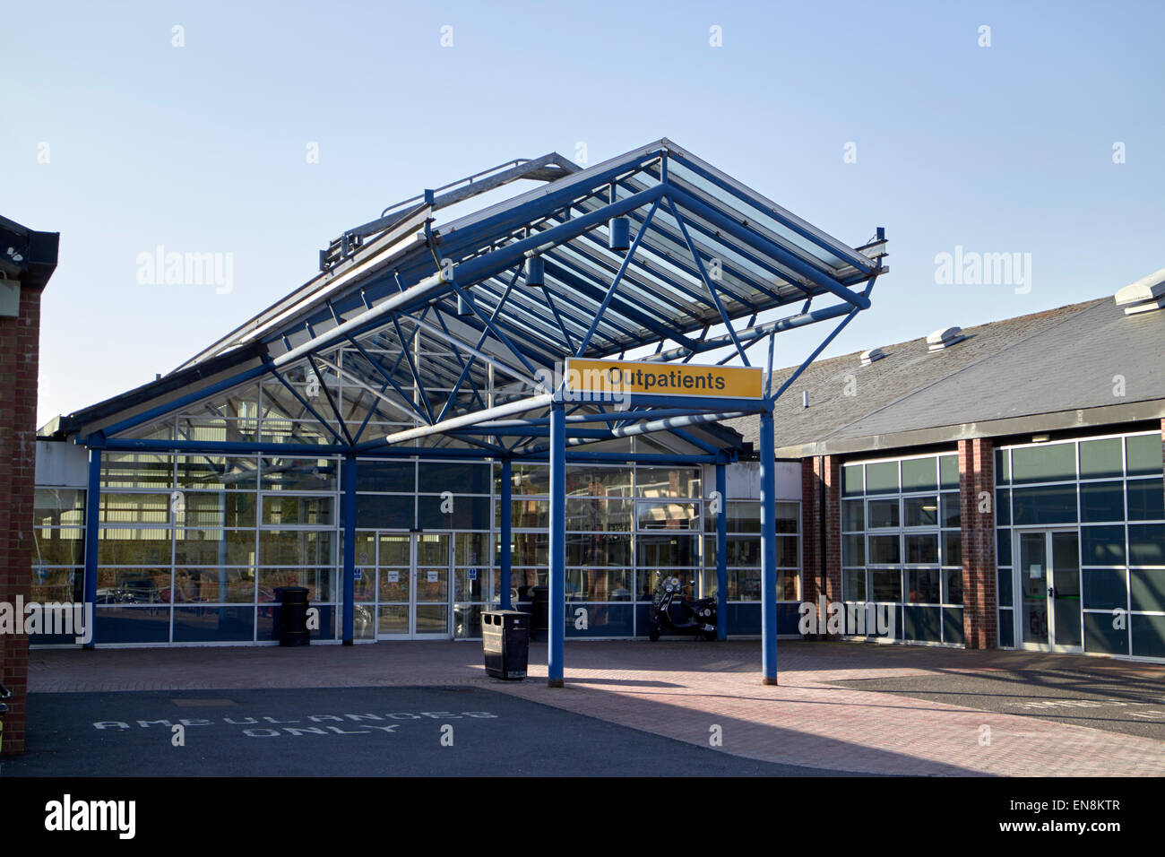 outpatients department at Musgrave Park Hospital belfast northern ireland - Stock Image