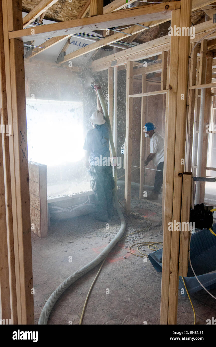 Insulation stock photos insulation stock images alamy for New home insulation