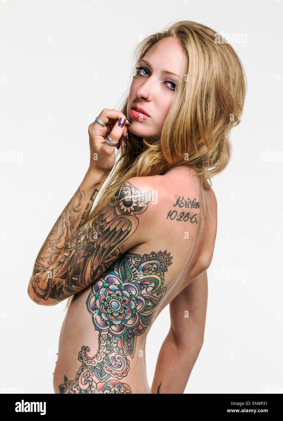 Tattos on body nude