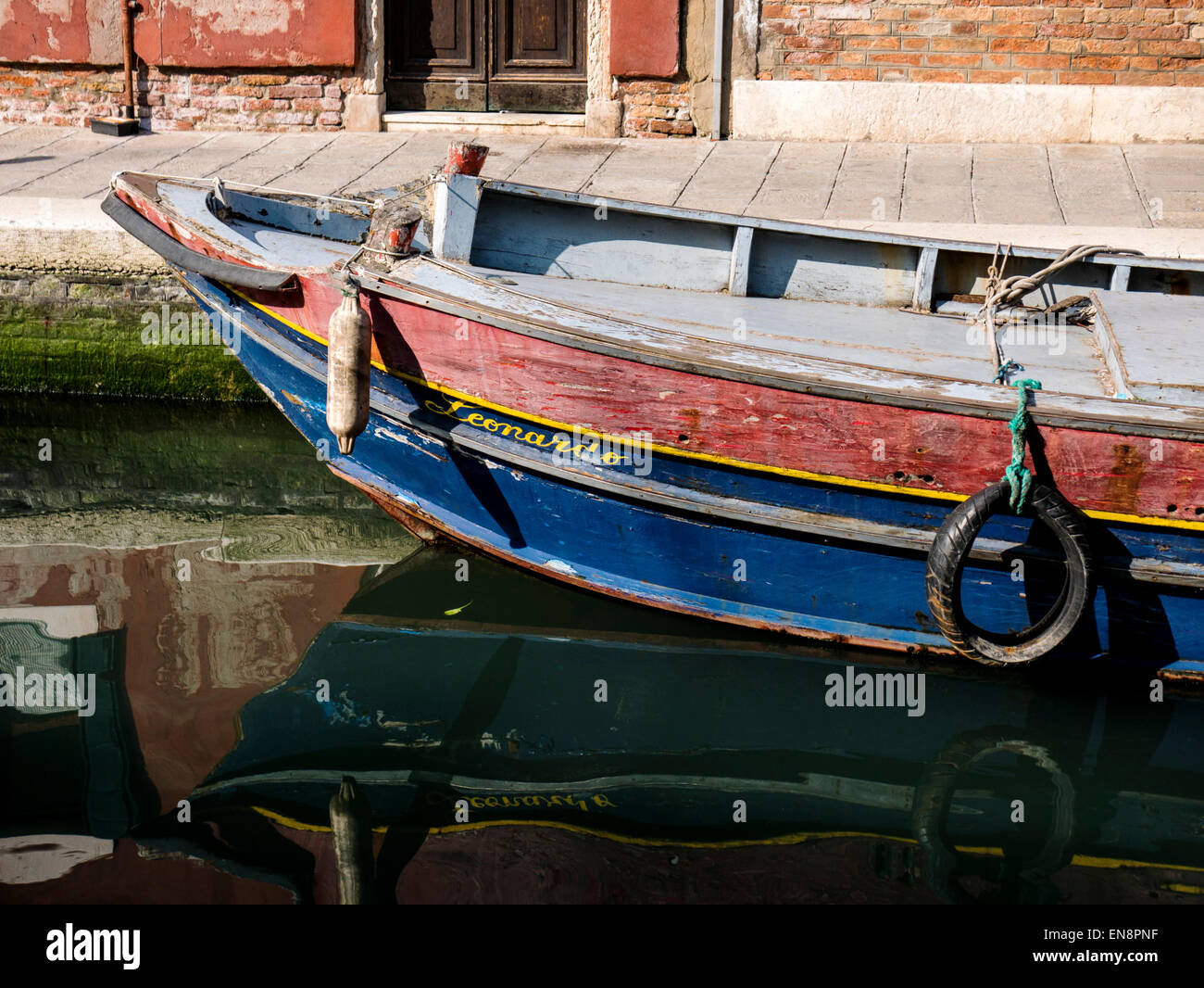 Venice, Italy, the City of Canals - Stock Image